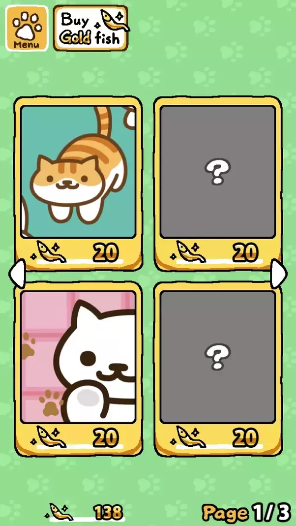 how to get gold fish easy in neko atsume