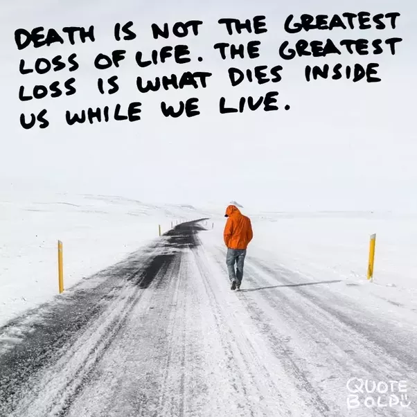 U201cNo Matter How Prepared You Think You Are For The Death Of A Loved One, It  Still Comes As A Shock, And It Still Hurts Very Deeply.