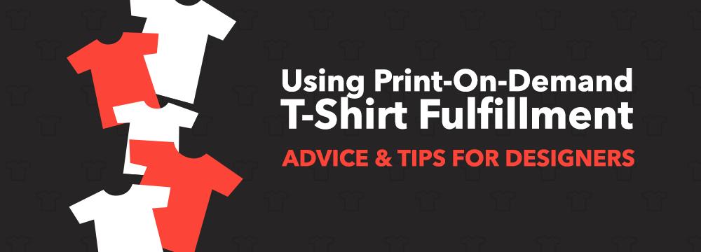 on demand t shirt printing