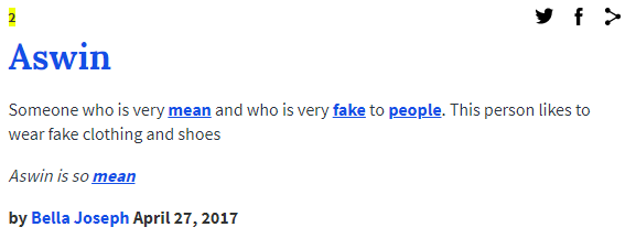 What does joseph mean in the urban dictionary