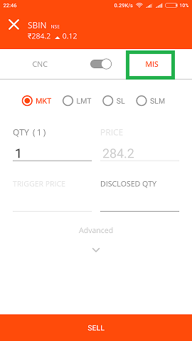 How to do future and option trading in zerodha