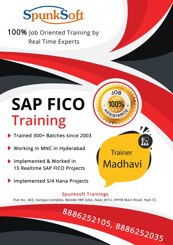 I want to join SAP FICO in Hyderabad  Which institute Is