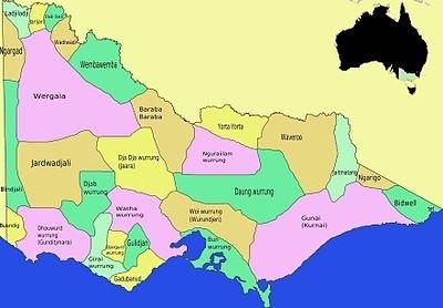 How Are The Aboriginal People The Community Of Native Australian - Australian language map