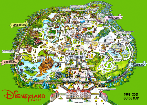 What are the differences between Disneyland Paris and ...  What are the di...