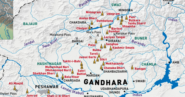 What Was The Gandhara Civilisation Like In Ancient Indus Valley Region Pakistan In 1 500 B C 535 A D Quora