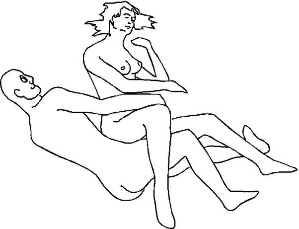 Crazy starfish sex position — img 9