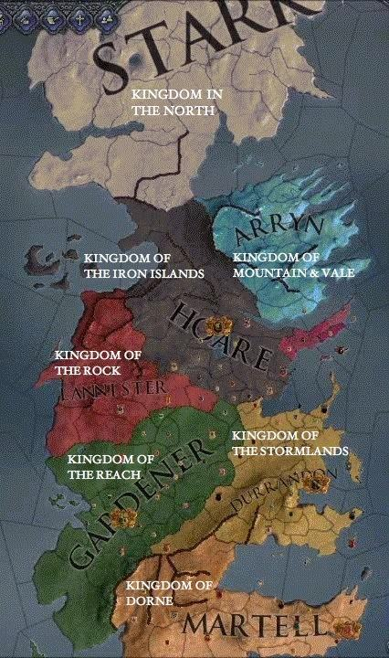 Why Is It Called The 7 Kingdoms When There Are 9 Of Them