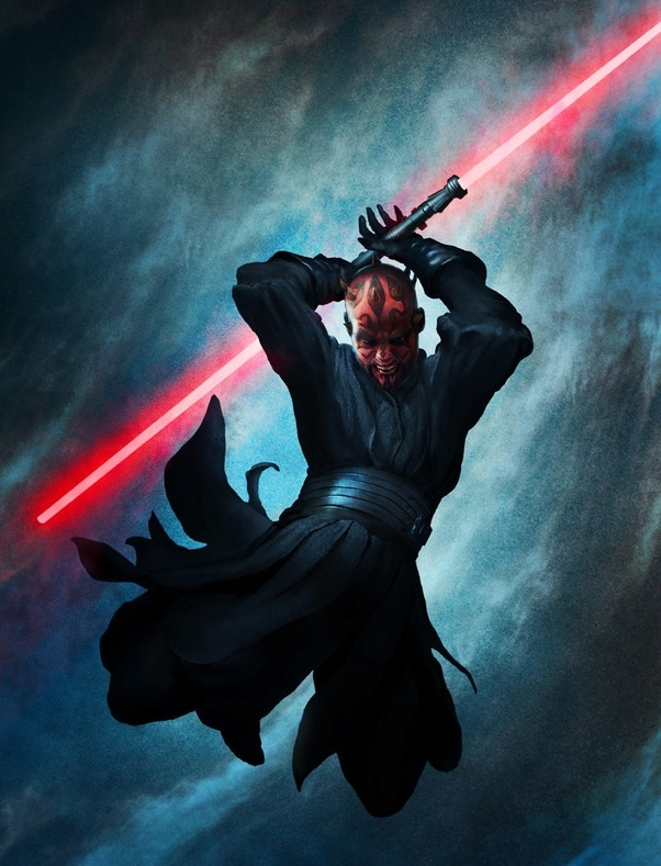 This Is Darth Maul When Sidious Started Looking For An Apprentice He Was Going To Take Talzin A Powerful Witch Of Dathomir