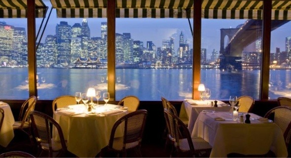 Finally For Casual Relatively Inexpensive Food With Stunning Views From Manhattan Particularly At Sunset Check Out Merchants River House Battery