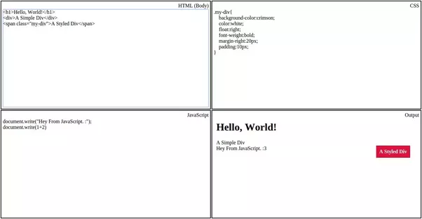 Scrolling Text In Html W3schools