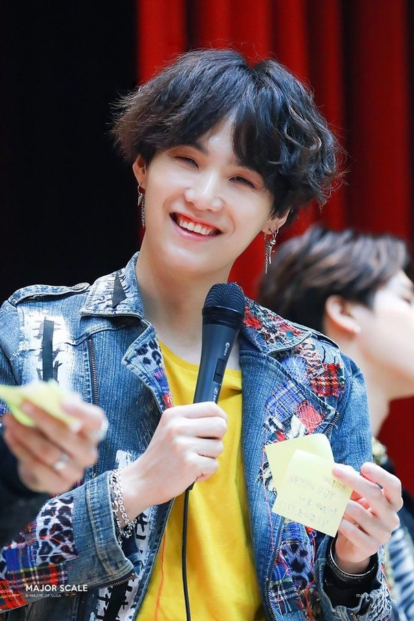 Why does Suga of BTS never smile anymore? - Quora