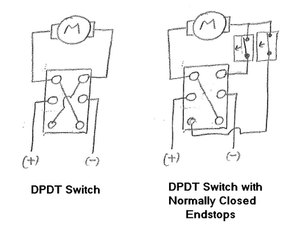 what is the best way to wire a dpdt switch? - quora dpdt switch wiring diagram for kato
