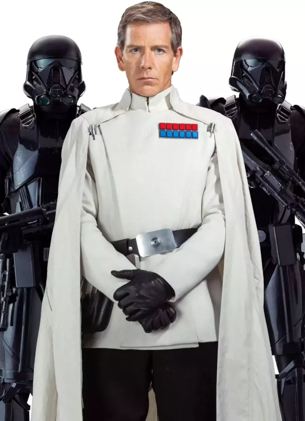 Why did orson krennic wear a white uniform quora for Bureau uniform