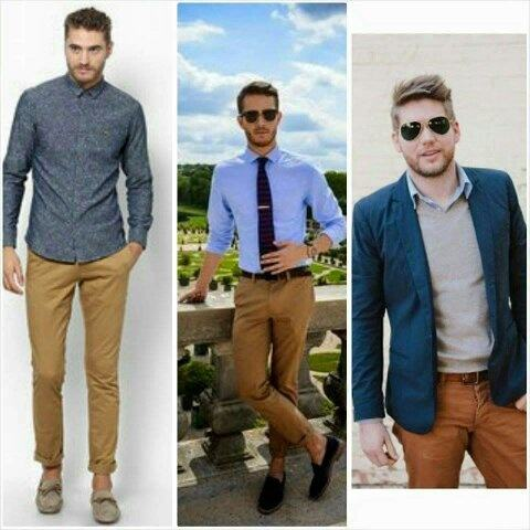 what to wear with dark blue dress shirt