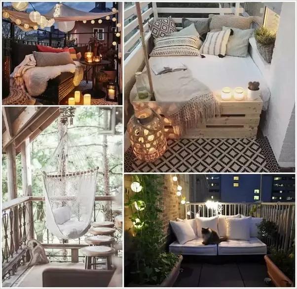 63 Cozy Apartment Balcony Decorating Ideas: How To Decorate My Apartment's Balcony