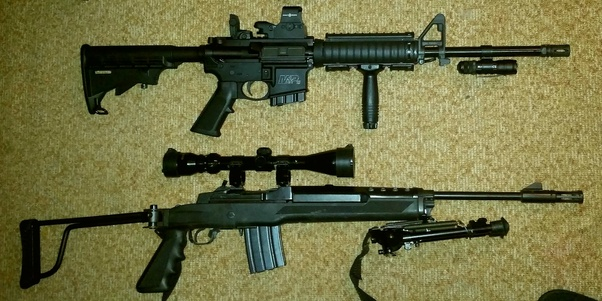 What's scarier, an AR-15 or a Ruger Mini-14? - Quora