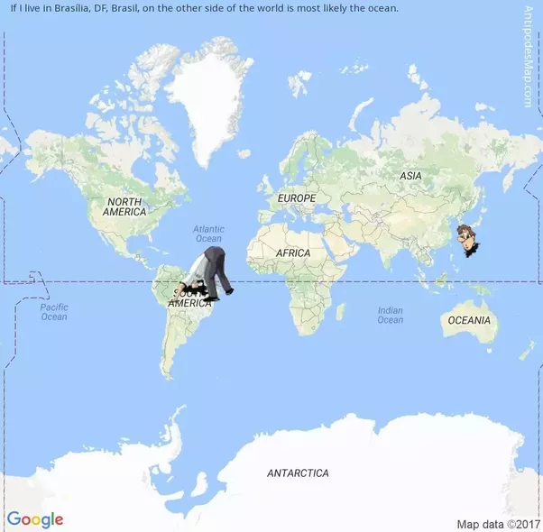 How can one create a world map centered on brasilia with a minimal generated at antipodes map tunnel to the other side of the world gumiabroncs Image collections