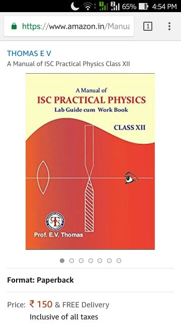where can i get the readings of class 12 physics practicals quora