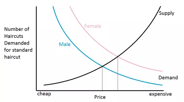 Pricing Why Does It Cost So Much More For Womens Hair Cuts Quora
