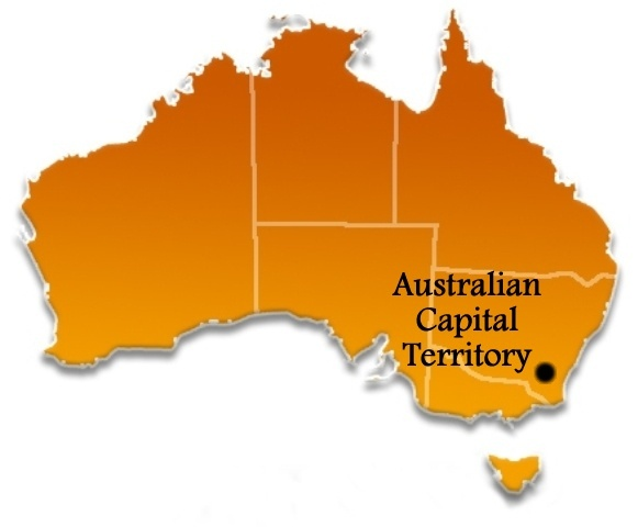 the capital of australia resides in that territory canberra is actually the only city located in the act all of the others listed by google are simply