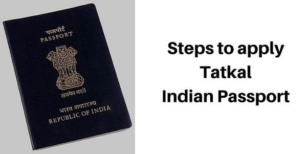 What Is The Procedure To Apply For A Tatkal Passport Online Quora