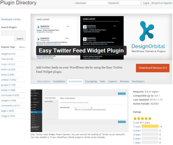 how to show twitter tweets on website