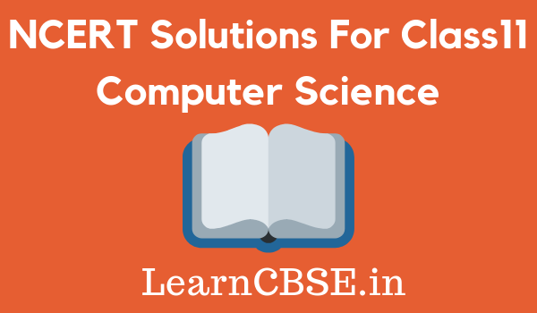 Where can I get the NCERT solutions for the computer science
