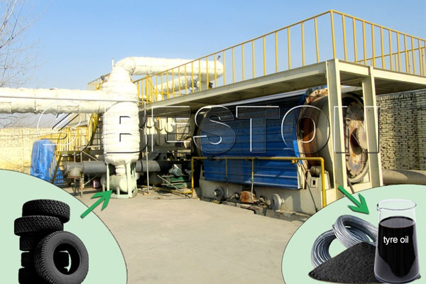 How successful could a tyre to oil (pyrolysis) plant be in