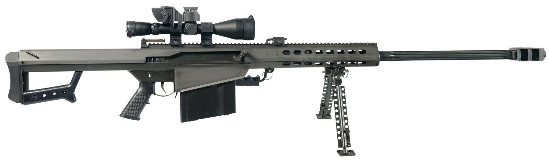 Anti Materiel Rifle what are the laws regarding civilians owning a 50 cal sniper