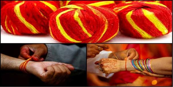 हिन्दू धार्मिक कार्यों में मोली क्यों बांधते हैं? - Quora