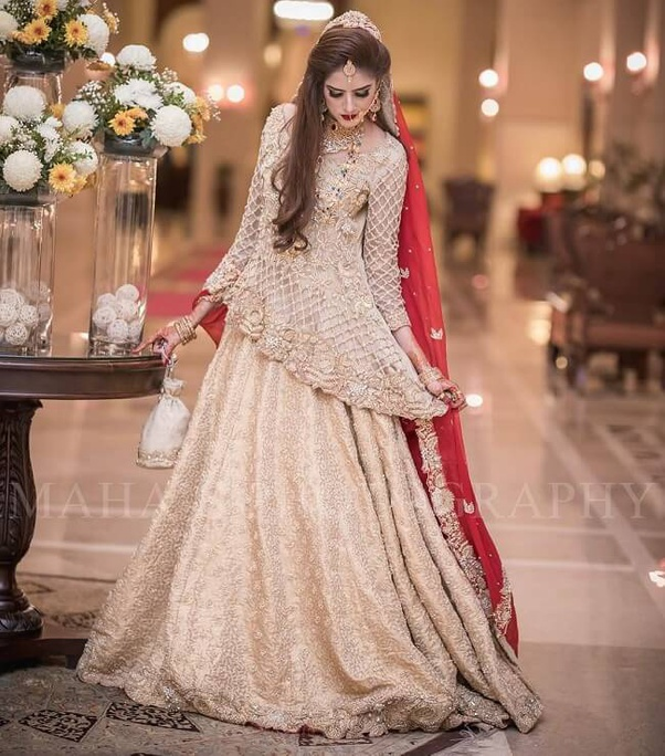 In Pakistan What Is The Symbolization Of A Red Wedding Dress Quora,Wedding Dresses With Long Trains And Sleeves