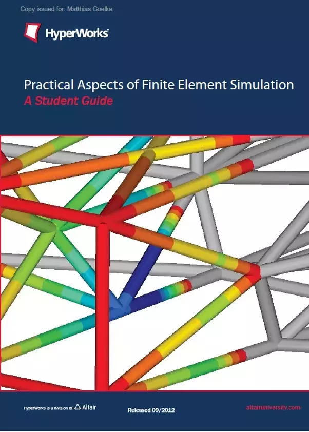 practical finite element analysis book pdf