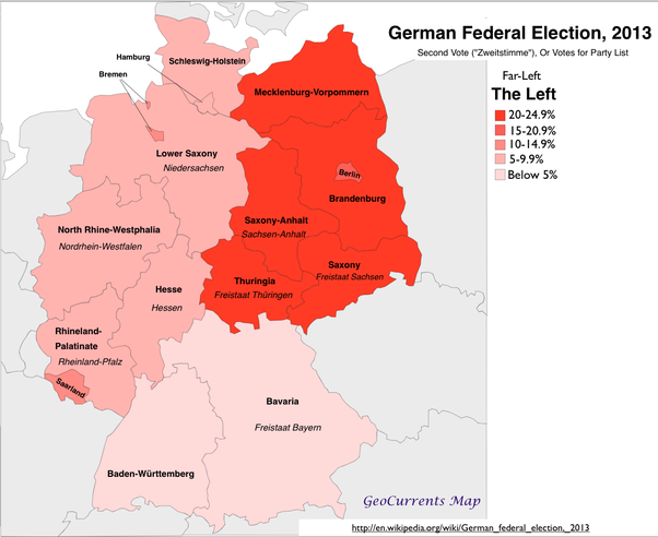 Map Of East West Germany.Have East Germany And West Germany Reconciled All Differences Quora