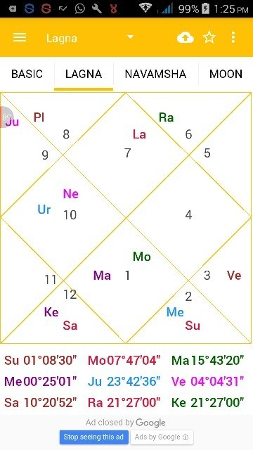 Can Anyone Give A Description About This Birth Chart Using Vedic