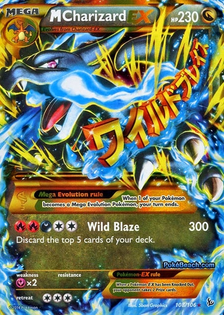 What is the best mega charizard X deck for the Pokemon trading card