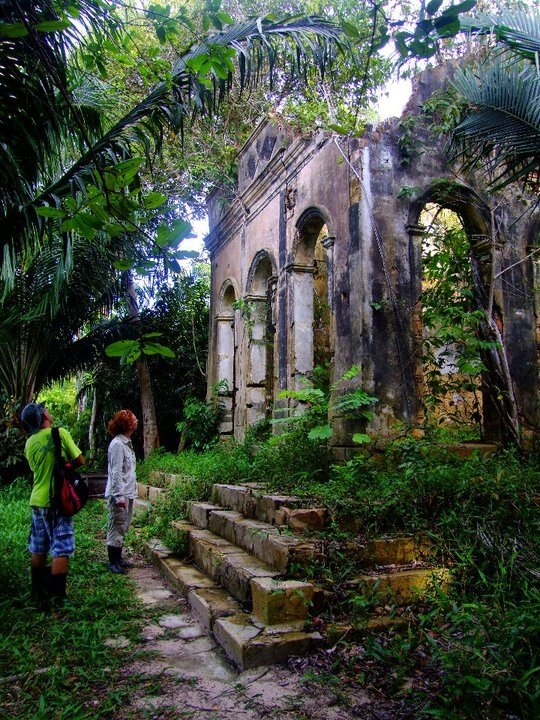 Are there any really old ruins in the Amazon? Like ...