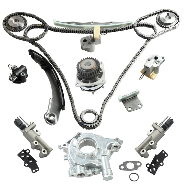 Fits 93-97 Infiniti J30 DOHC VG30DE Timing Belt Valve Cover Water Pump Kit