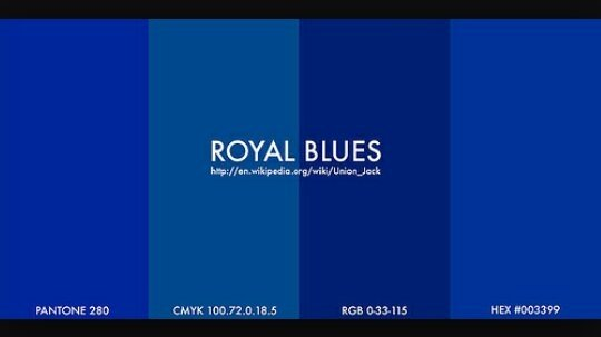 What does royal blue look like? - Quora