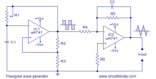 How To Generate A Trapezoidal Waveform From An Op Amp Quora