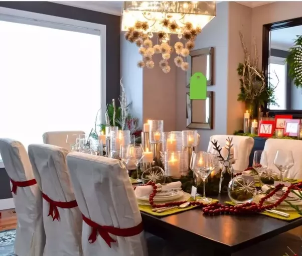 How to tone down an open red dining room - Quora