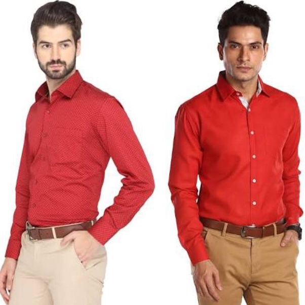 What pants to wear with red shirt