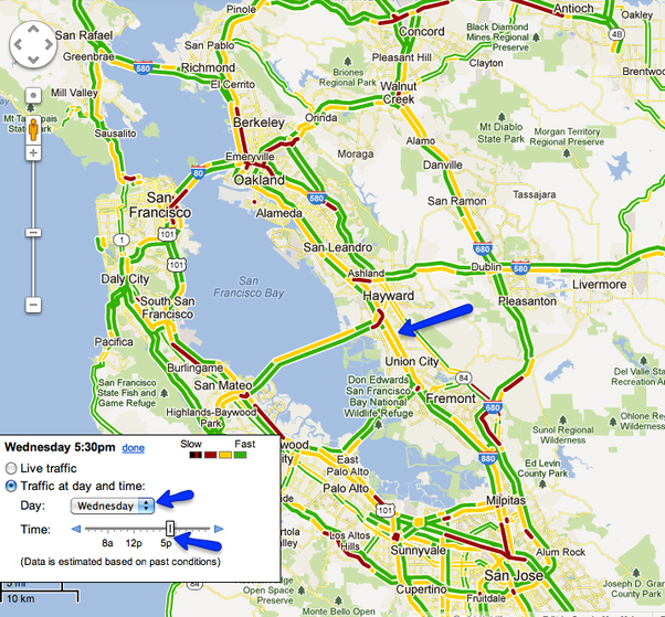 When is rush hour between Oakland and San Jose Quora