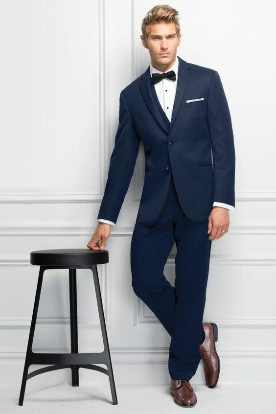 What Color Shoes With A Navy Blue Tuxedo Quora