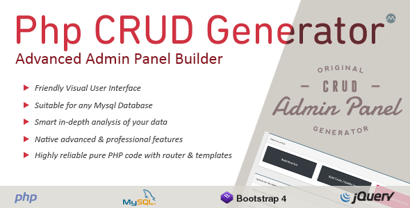 What's the fastest way to develop a CRUD app in PHP in 2019? - Quora
