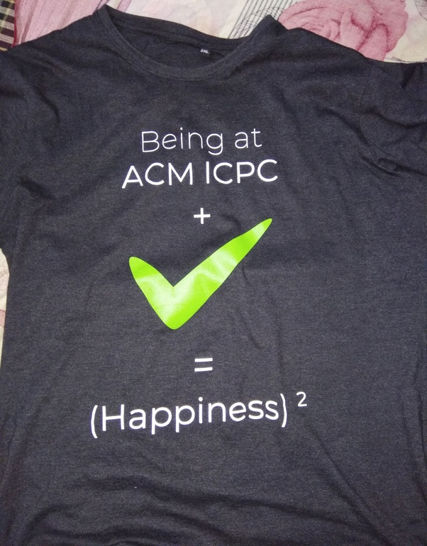 What goodies do we get at ACM ICPC regionals Kanpur/Gwalior site