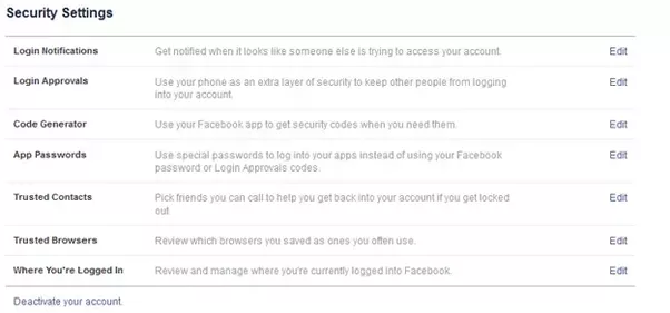 How to keep people from hacking your facebook account quora 2 security settings ccuart Gallery
