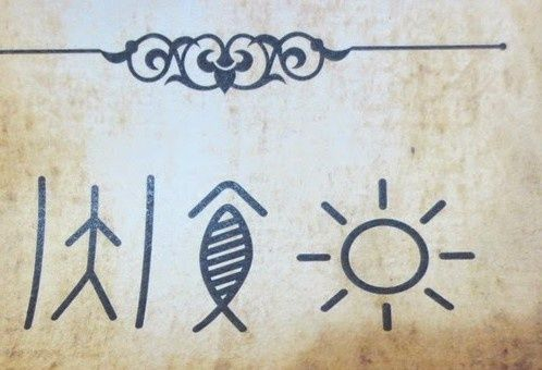 I Found These Symbols In A Book What Do They Mean Quora
