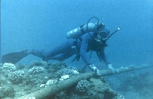 How are major undersea cables laid in the ocean? - Quora