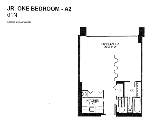 What is a junior one bedroom apartment? - Quora