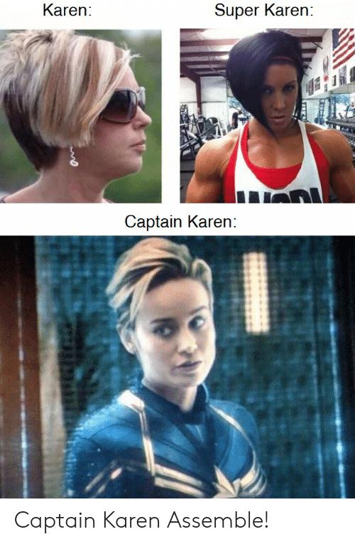 Captain Marvel Karen Haircut Haircut Trends